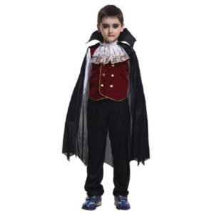 new Children's Halloween Role play the hero The new boy kids vampire costumes Halloween Cosplay costume