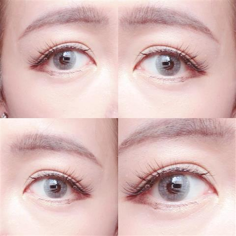 VASSEN MINI VIVIAN NATURAL GRAY CONTACT LENS